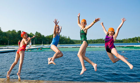 Jump into a great summer at Tripp Lake!